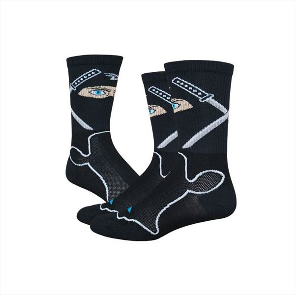 Calcetines DEFEET LEVITATOR Ninja Black