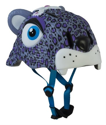 CASCOS CRAZY SAFETY LEOPARDO PURPURA