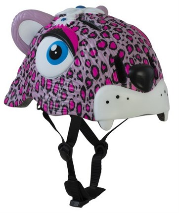 CASCOS CRAZY SAFETY LEOPARDO ROSA