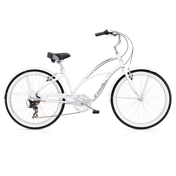 ELECTRA CRUISER LUX 7D LADIES blanca
