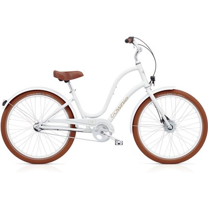 ELECTRA TOWNIE BALLOON 3I EQ LADIES BLANCA