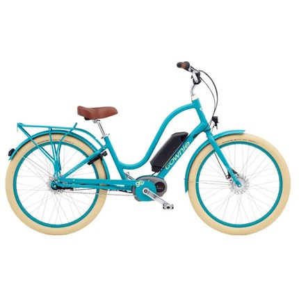 ELECTRA TOWNIE GO! LADIES' 26 celeste