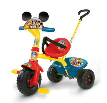 Triciclo infantil SMOBY BE FUN MICKEY CLUBHOUSE - con licencia | QuiqueCicle