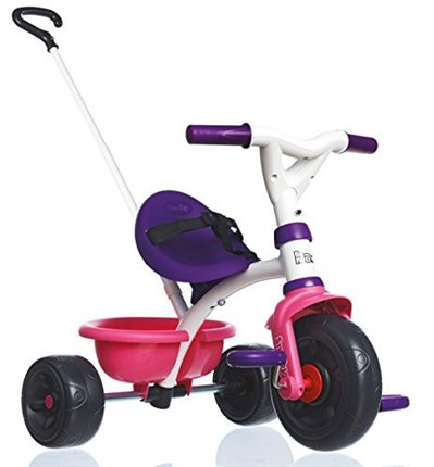 Triciclo infantil SMOBY BE MOVE GIRLY | QuiqueCicle
